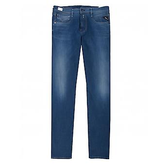 Replay Anbass Slim Fit Hyperflex Plus Jeans