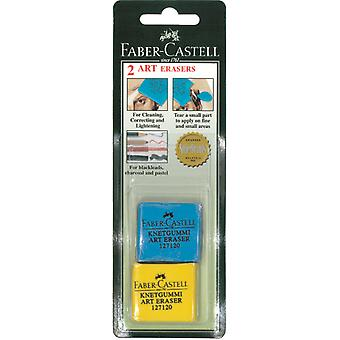 Colored Kneaded Art Erasers Blister Carded 2/Pkg-          1271202