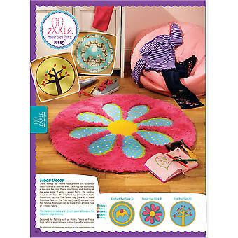 Floor DÉCor  One Size Only Pattern K0119