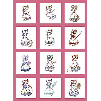 Stempel Baby Quilt Blocks 9