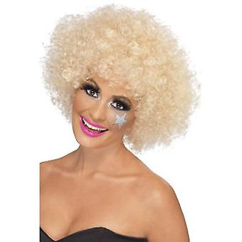Smiffys 70'S Funky Afro Wig Blonde 120G (Kostuums)