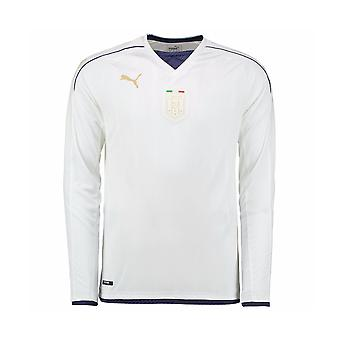 Italy 2006 Puma Tribute Away Long Sleeve Shirt