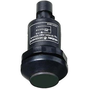 Pushbutton 48 V DC/AC 0.5 A 1 x On/(Off) Elobau 145010AB-BK IP67 momentary 1 pc(s)