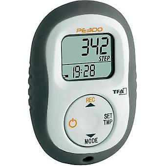 Pedometer TFA HiTrax Step 3d White grey