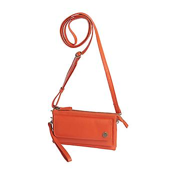Dr Amsterdam shoulder bag/Clutch Mint Tangerine Tango Orange