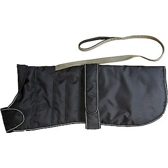 Harness Dog Coat Black 70cm (28