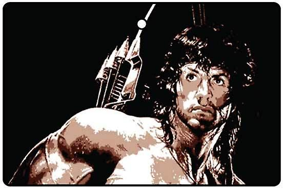 Stallone - Rambo Car Air Freshener