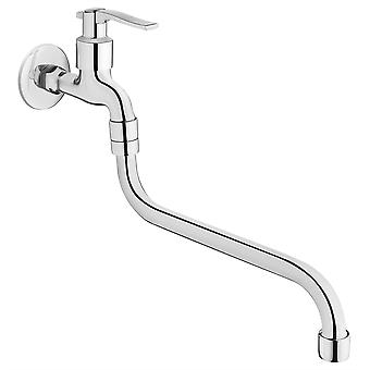 Chrome Plated Water Garden Outdoor Tap 1/2