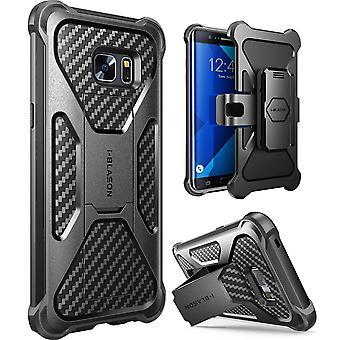 i-Blason-Galaxy Nota 7 caso-trasformatore a doppio strato Case-Black