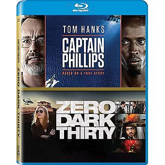 Kapitän Phillips / Zero Dark dreißig [Blu-Ray] USA import