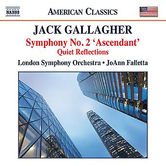 Gallagher / Falletta / London Sym Orch - Sym 2 Ascendant Quiet Reflections [CD] USA import