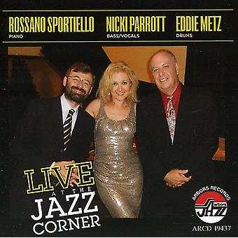 Sportiello, Rossano & Parrott/Eddie - Live Jazz hjørne i Hilton Head syd Carol [CD] USA import