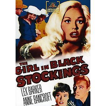Meisje in zwarte kousen [DVD] USA import