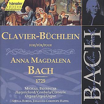 J.S. Bach - Bach: Clavier Book for Anna Magdalena Bach (1725) [CD] USA import