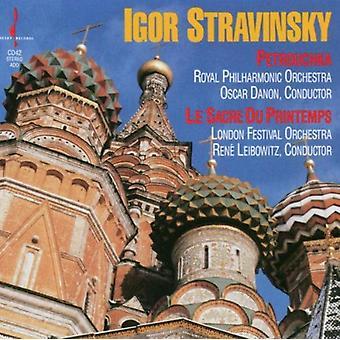 I. Stravinsky - Igor Stravinsky: Petrouchka; Le Sacre Du Printemps [CD] USA importerer