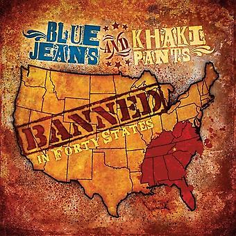 Calças de ganga & Khaki - banido em importação de quarenta Estados [CD] EUA