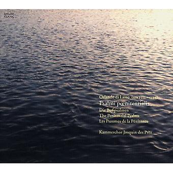 Lasso / Johan Des Prez Chamb kor / Kammler - Penitential salmer [CD] USA import