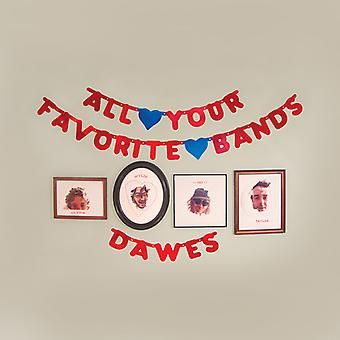 Dawes - alle dine yndlingsbands [CD] USA importerer