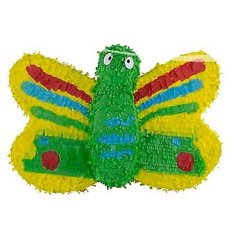 Pinata Butterfly Mexico party candy stash kids birthday party game