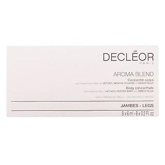Decléor Paris Concentrate Aromablend Corps Light Legs 8x6 ml