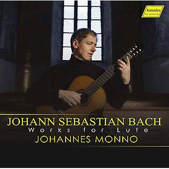 Bach, J.S. / Monno - arbejder for lut [CD] USA import