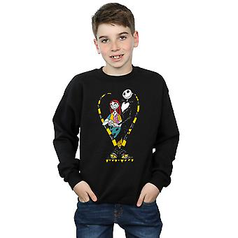 Disney jungen Nightmare Before Christmas Jack und Sally Liebe Sweatshirt
