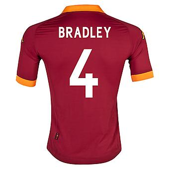 2012-13 Roma Home Shirt (Bradley 4)