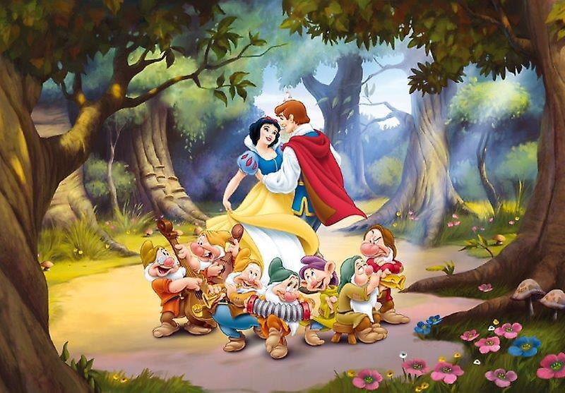 Biancaneve e i Sette Nani Maxi Decorazione Murales Principesse Disney