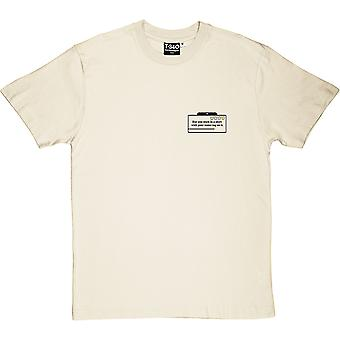 With Your Name Tag On It Men's T-Shirt