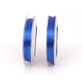 3mm Polyester Satin Craft Ribbon - 10m Reel - Royal Blue