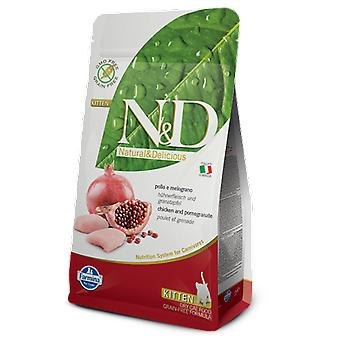 Farmina N&D Grain Free Kitten Chicken and Pomegranate (Cats , Cat Food , Dry Food)