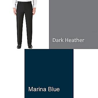 Skopes Mens Ryedale Flat Fronted Formal Trousers