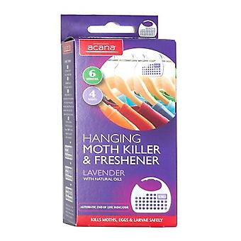 Pack of 4 Acana Moth Killer Hanging