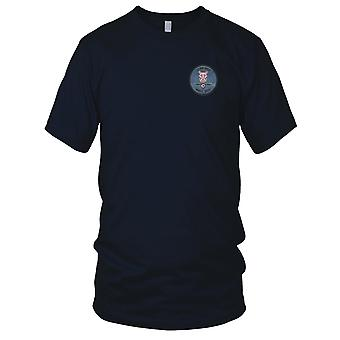 USAF Airforce - U.S. Air Force 118th Fighter Sq. Conn Ang Embroidered Patch - Ladies T Shirt