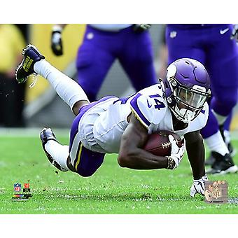 Stefon Diggs 2017 Action Photo Print