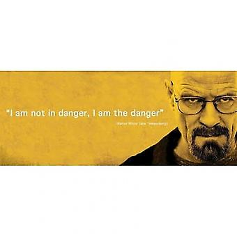 Breaking Bad Danger I Am The Danger Poster Poster Print
