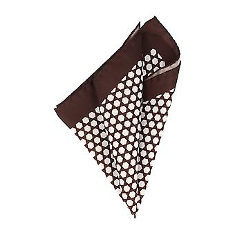 Baldessarini handkerchief Hanky Cavalier cloth Brown silk