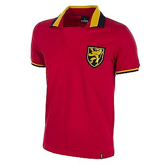 Belgium 1960\'s Short Sleeve Retro Football Shirt