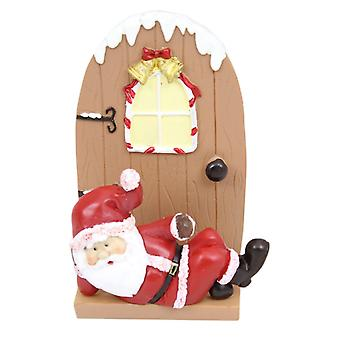 Father Christmas Fairy Elf Door Letter Rack For Cards - Santa Design