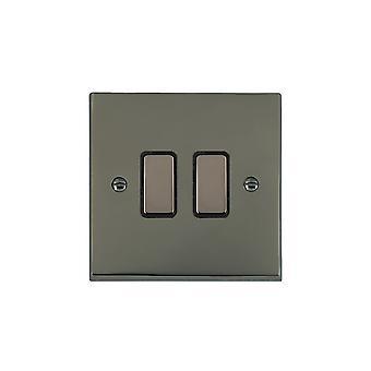 Hamilton Litestat Cheriton Victorian Black Nickel 2g 250W M-Way Touch Mast BK/BL