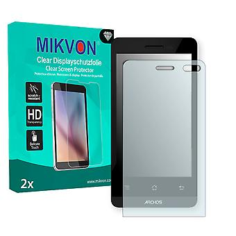 Archos 40d Titanium Screen Protector - Mikvon Clear (Retail Package with accessories)