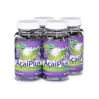 Acai Plus Extreme Acai Berry Complex - 4 Month Supply (240 Capsules) - Antioxdant - Evolution Slimming