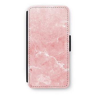 iPhone 6/6S Plus Flip Case - Pink Marble