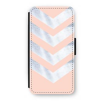 Samsung Galaxy S8 Plus Flip Case - Marble arrows
