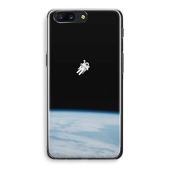 OnePlus 5 Transparant Case - Alone in Space