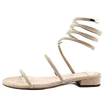 Avec Les Filles Womens Caila Open Toe Casual Ankle Strap Sandals