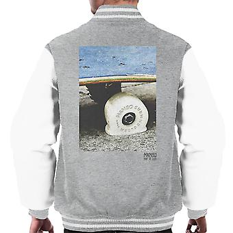 Mambo Surwheelism Men's Varsity Jacket