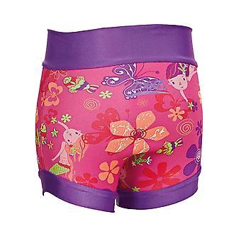 Mittelerweile Unisex Kinder Meerjungfrau Blume Swimsure Windel - mehrfarbig