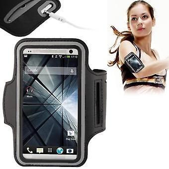 Sportarmband Schwarz für Samsung Galaxy S5