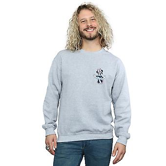 Disney Men's Minnie Mouse Dancing Chest Sweatshirt